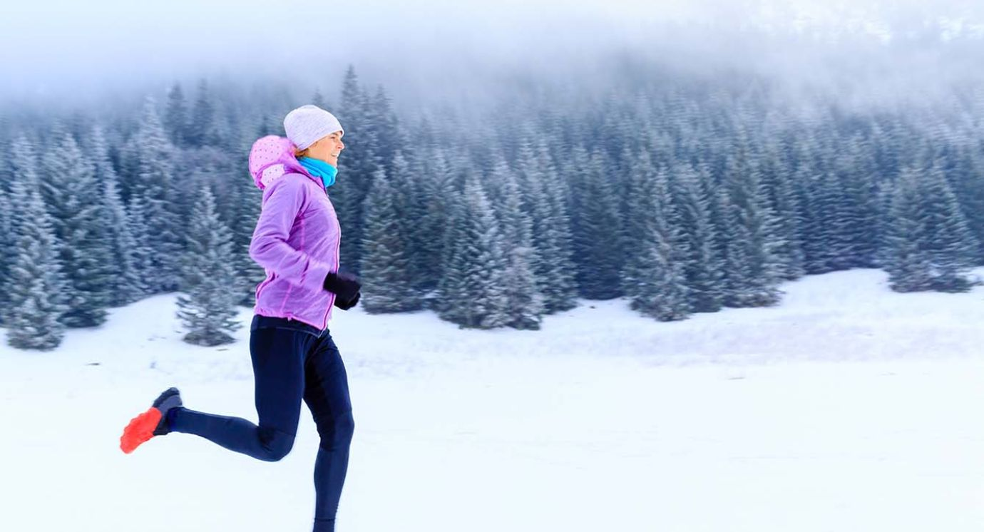 Laufsport im Winter