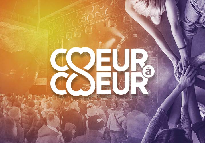 "Groupe Mutuel Foundation supports the charity event ""Coeur à Coeur"""