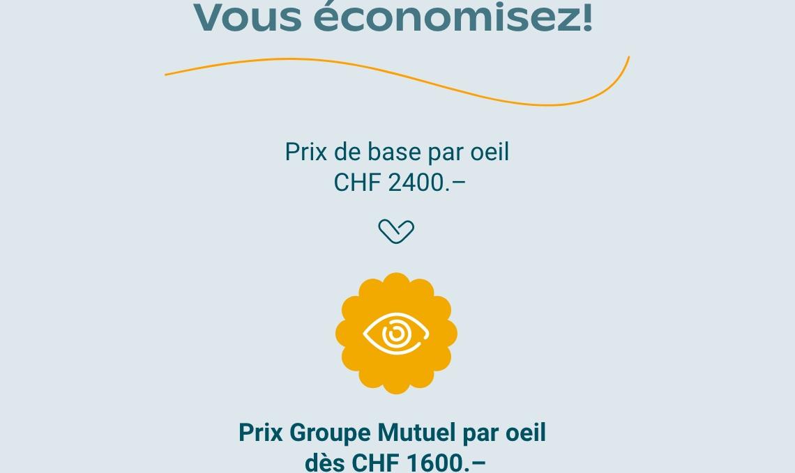 fa9175533370f2 Me faire opérer les yeux au laser et payer moins cher - Groupe Mutuel